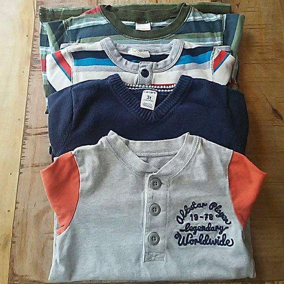 Carter's Other - Boys lot of shirts 2t/3t